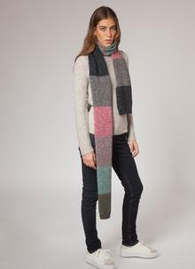 Fisherman Donegal Fleck Scarf - Rock Candy