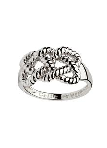 Sterling Silver Fisherman Knot Ring
