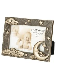 Moon & Teddy Bronze Frame
