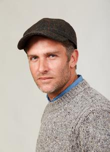 Gents Tweed Baseball Cap