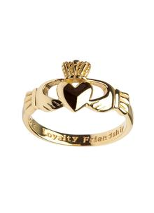 Gents 10K Gold Claddagh Ring