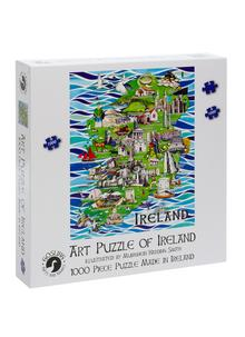 Art Puzzle of Ireland Jigsaw