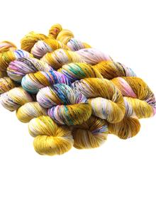 Hand-Dyed Sock Yarn Fool's Gold