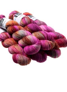 Hand-Dyed Sock Yarn Pheasant