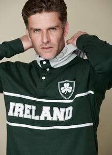 Ireland High Neck Button Hoodie