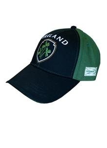 Ireland Three Shamrock Baseball Cap