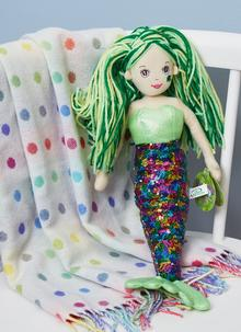 Irish Mermaid Rag Doll