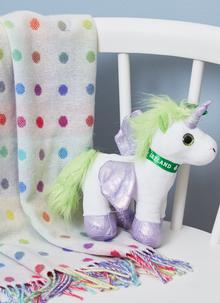 Irish Unicorn Soft Toy