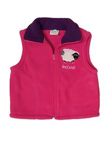 Kids Full Zip Sheep Gilet