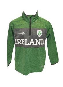 Kids Ireland Performance Half Zip Sweatshirt