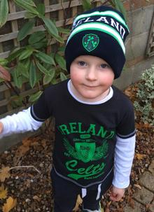 Kids Ireland Turn Up Beanie