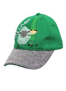 Kids Leprechaun & Sheep Baseball Cap