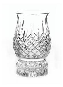 Galway Crystal Longford Pillar Hurricane Lamp