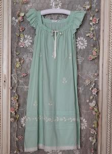 Margo Cotton Nightgown in Green