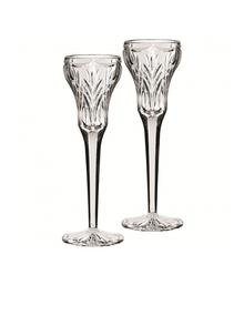 Waterford Crystal Marquis Canterbury Candlestick Pair