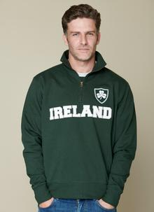 Ireland Half Zip Sweater