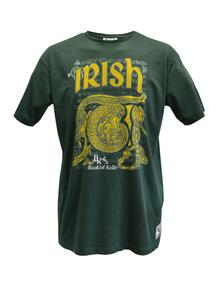 Men's Book of Kells Green T-Shirt