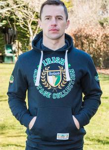 Ireland Embroidered College Hoodie