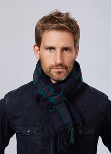 Lambswool Scarf Black Watch Tartan