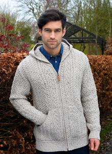 Men's Heritage Hooded Zip Cardigan