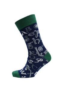 Set of 3 Men's Celtic Alphabet Socks