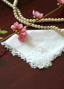 ... Mother Of The Bride Linen Hanky