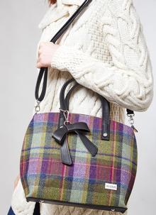 27ff9dbd4c Mucros Niamh Tweed Handbag
