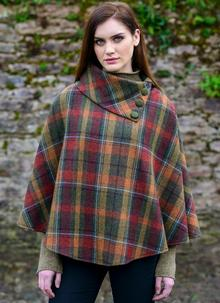 Mucros Wool Cape