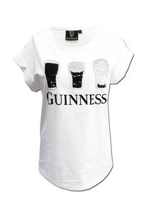 Guinness Reversible Sequin Pint T-Shirt