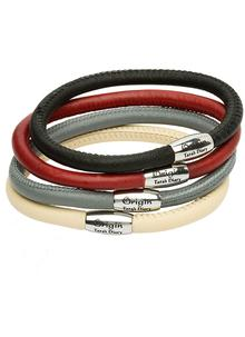 Origin Single 8.5 Inch Leather Bracelet
