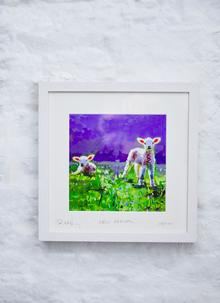 New Arrival Framed Print