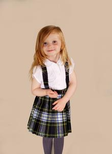 Children's Traditional Tartan Kilt