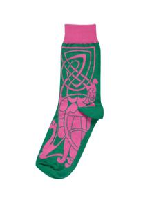 Set of 2 Ladies Celtic Design Socks