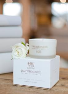 Dublin Tea Rose, Oud & Patchouli Travel Candle