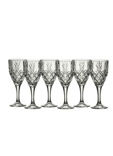 Galway Crystal Renmore Goblets Set of 6