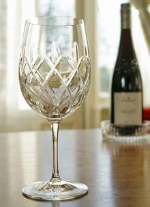 Waterford Crystal Sager Goblets Set of 2