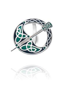 Celtic Enamel Tara Scarf Ring