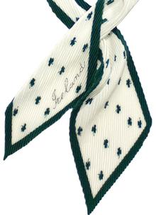 Shamrock Pleat Scarf