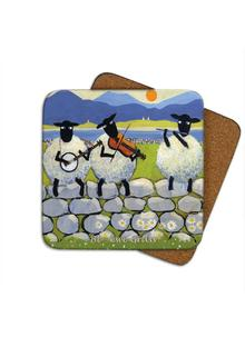 Bl-Ewe Grass Coasters Set of 4