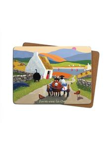 Form-Ewe-La One Placemats Set of 4