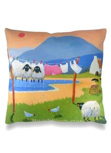 Hand Wash Only Cushion Cover 16 Inch