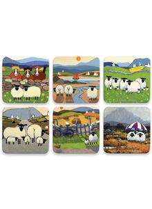 Thomas Joseph Mixed Coasters Set of 6 (Bundle 1)