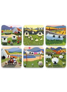 Thomas Joseph Mixed Coaster Set of 6 (Bundle 2)