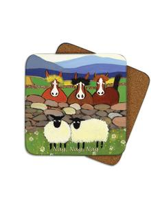 Nag Nag Nag Coasters Set of 4