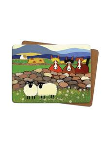 Nag Nag Nag Placemats Set of 4