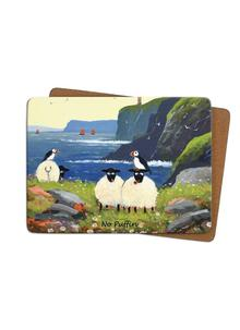 No Puffin Placemats Set of 4