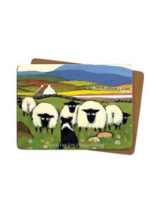 Thank Ewe For Doggy Sitting Placemats Set of 4