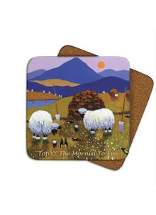 Top O' The Mornin' To Ewe Coasters Set of 4
