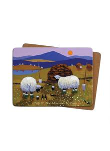 Top O' The Mornin' To Ewe Placemats Set of 4
