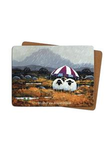Wish Ewe Were Here Placemats Set of 4